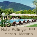 4 Sterne Hotel Pollinger in Meran in Südtirol.