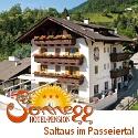 3 Sterne Hotel Pension Sonnegg in Saltaus im Passeiertal in Südtitol.